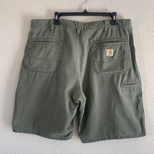 Carhartt Green Cargo Work Shorts
